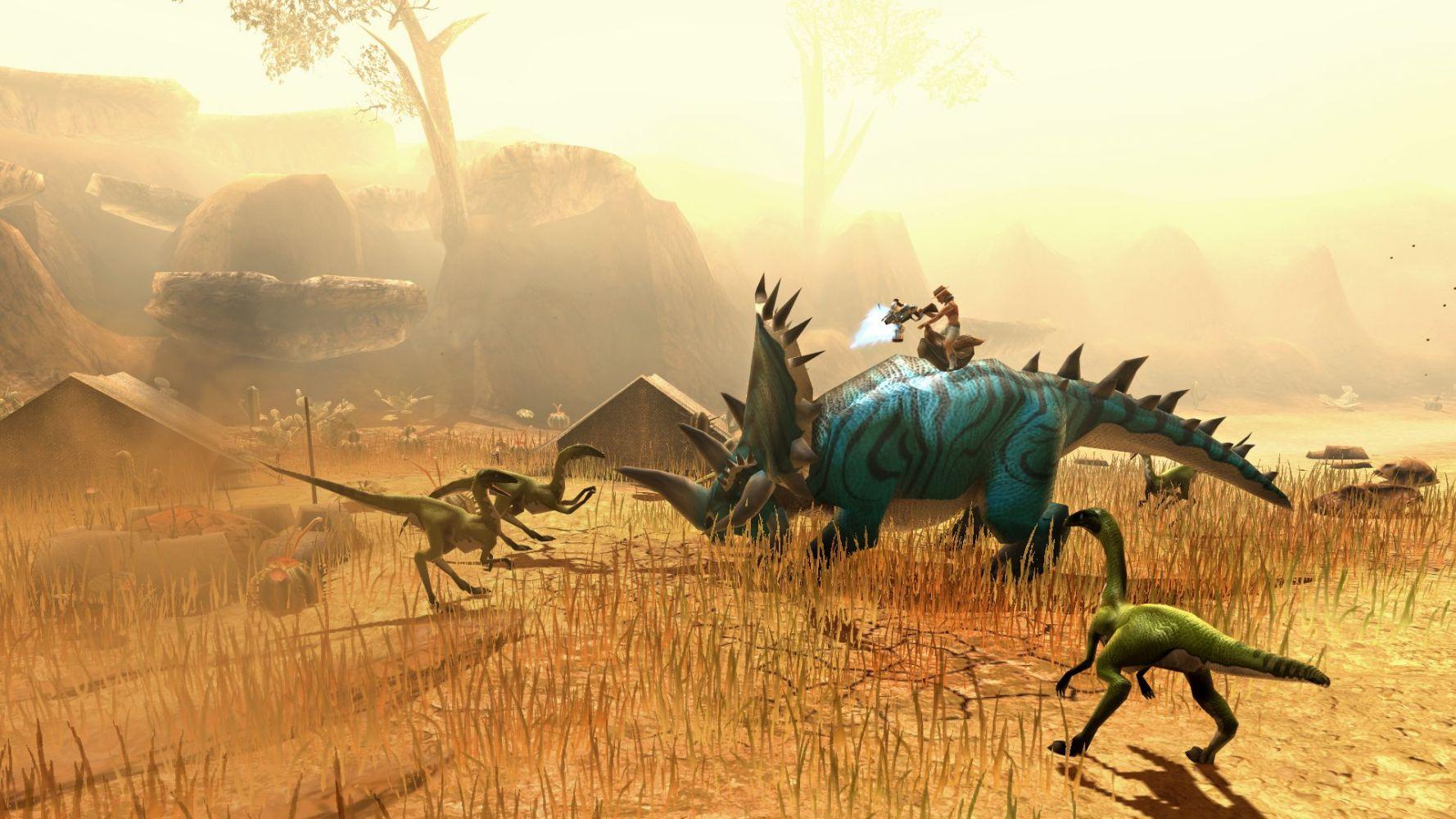 ТОП 25   Лучшие игры про динозавров на ПК