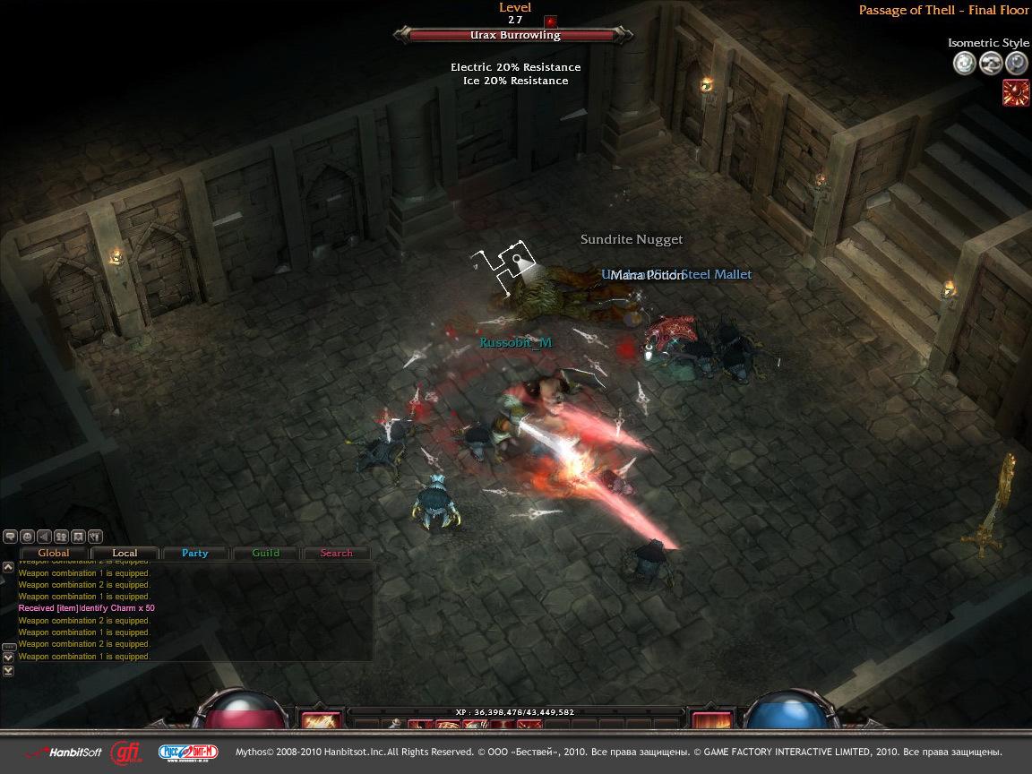 MMORPG TÉLÉCHARGER MYTHOS